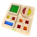 388ET1B16 レインボーブロックパズル